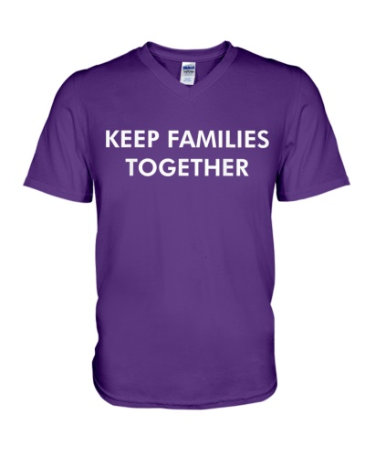 Keep Families Together Immigration Borders T-Shirt
