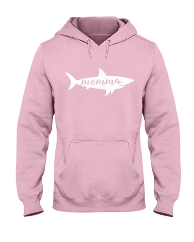 Womens Momma Shark Mother Mom Birthday Mother s Da
