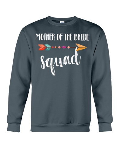 Mother Of The Bride Squad Wedding Day Gift T-Shirt