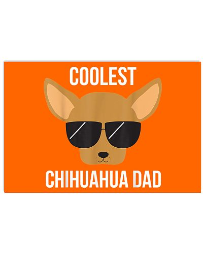 Dog Lover Coolest Chihuahua Dad Shirt