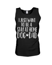 Stay at Home Dog Dad Shirt - Funny Dog Dad T Shirt Unisex Tank thumbnail