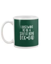 Stay at Home Dog Dad Shirt - Funny Dog Dad T Shirt Mug back