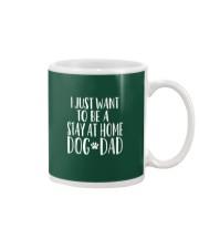 Stay at Home Dog Dad Shirt - Funny Dog Dad T Shirt Mug front