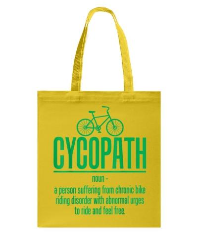 Cycopath Biker Funny Bicycle Cyclist T-Shirt