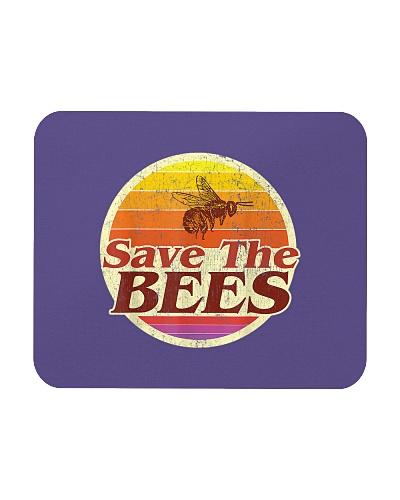Save The Bees Women Men Vintage Retro Distressed