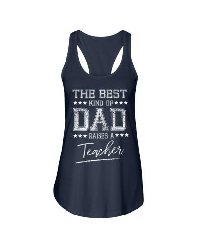 Mens The Best Dad Raises a Teacher Birthday Gifts