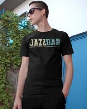 Mens Jazz Dad Like Normal Dad But Cooler Shirt Jaz Classic T-Shirt apparel-classic-tshirt-lifestyle-17
