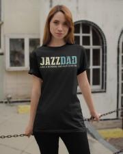 Mens Jazz Dad Like Normal Dad But Cooler Shirt Jaz Classic T-Shirt apparel-classic-tshirt-lifestyle-19