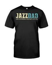 Mens Jazz Dad Like Normal Dad But Cooler Shirt Jaz Classic T-Shirt front