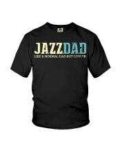 Mens Jazz Dad Like Normal Dad But Cooler Shirt Jaz Youth T-Shirt thumbnail