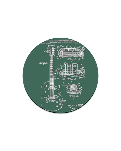 Guitar Patent Print 1955 Vintage Patent Print Art