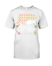 Mawmaw Floral Bear Mommy Grandma Mother Father Day Classic T-Shirt tile