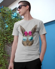 This cute rabbit face top features an adorable bun Classic T-Shirt apparel-classic-tshirt-lifestyle-17