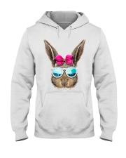 This cute rabbit face top features an adorable bun Hooded Sweatshirt thumbnail