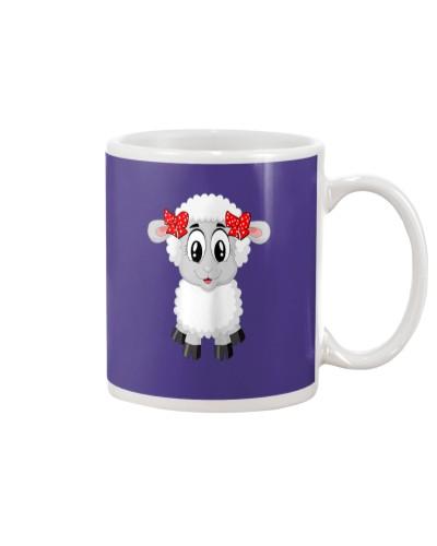 Sheep Costume Shirt For Farm Animal Theme Party
