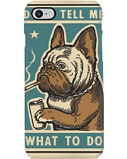 Don't tell me What to Do Poster Phone Case thumbnail