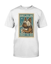 Don't tell me What to Do Poster Premium Fit Mens Tee thumbnail