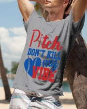 pitch don't kill my vibe Classic T-Shirt lifestyle-mens-crewneck-front-9