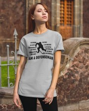 i am a defenseman Classic T-Shirt apparel-classic-tshirt-lifestyle-06