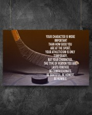 your character is more important 17x11 Poster aos-poster-landscape-17x11-lifestyle-12
