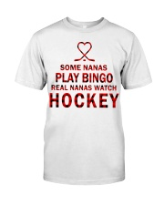 Real nanas  watch hockey Classic T-Shirt thumbnail