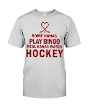 Real nanas  watch hockey Premium Fit Mens Tee thumbnail