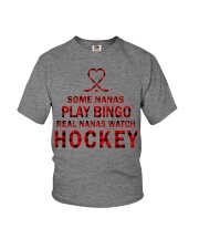 Real nanas  watch hockey Youth T-Shirt thumbnail