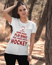 Real nanas  watch hockey Ladies T-Shirt apparel-ladies-t-shirt-lifestyle-06