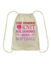 some grandmas knit Drawstring Bag thumbnail