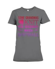 some grandmas knit Premium Fit Ladies Tee thumbnail