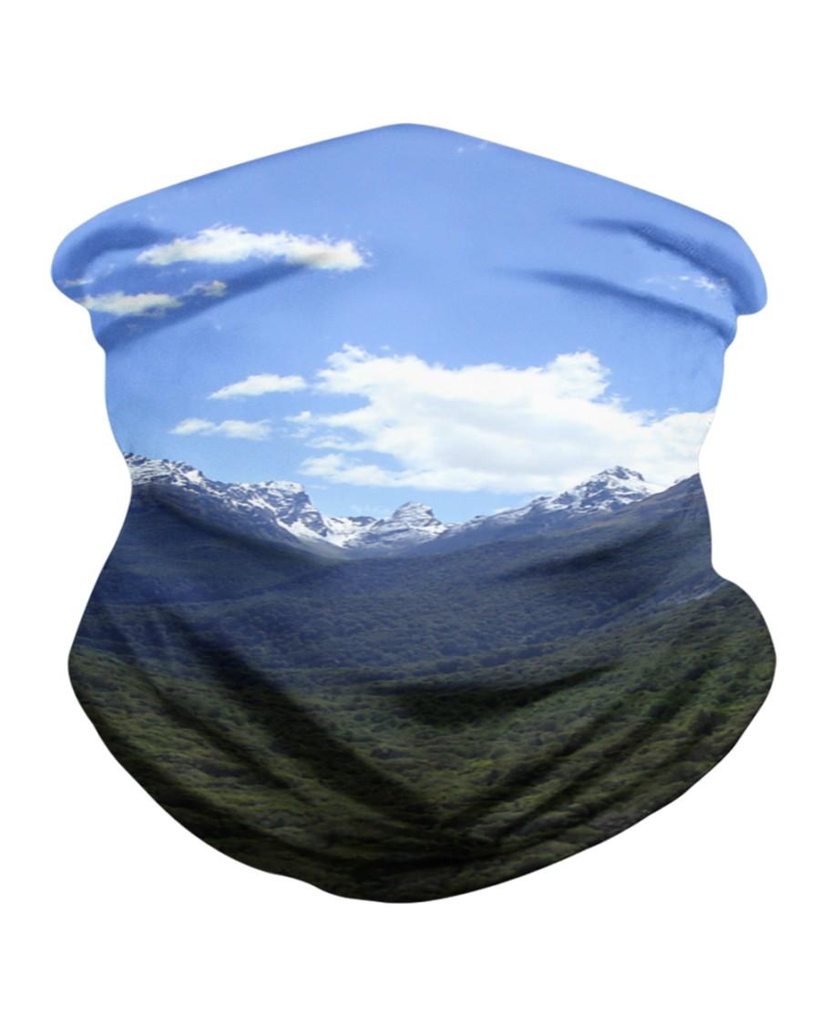 NZ Southern Mountains 01 Neck Gaiter