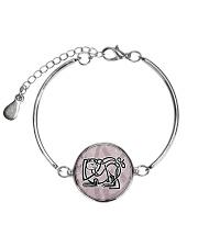 Callum's Alley Celtic Cat Jewellery Metallic Circle Bracelet thumbnail