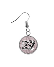 Callum's Alley Celtic Cat Jewellery Circle Earrings tile