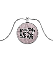 Callum's Alley Celtic Cat Jewellery Metallic Circle Necklace thumbnail