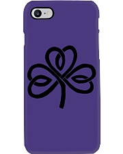 Mariah's Dream: Shamrock Black Phone Case tile