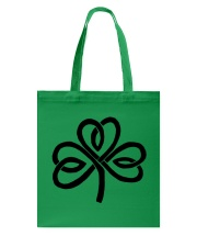 Mariah's Dream: Shamrock Black Tote Bag thumbnail