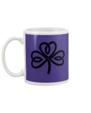 Mariah's Dream: Shamrock Black Mug back
