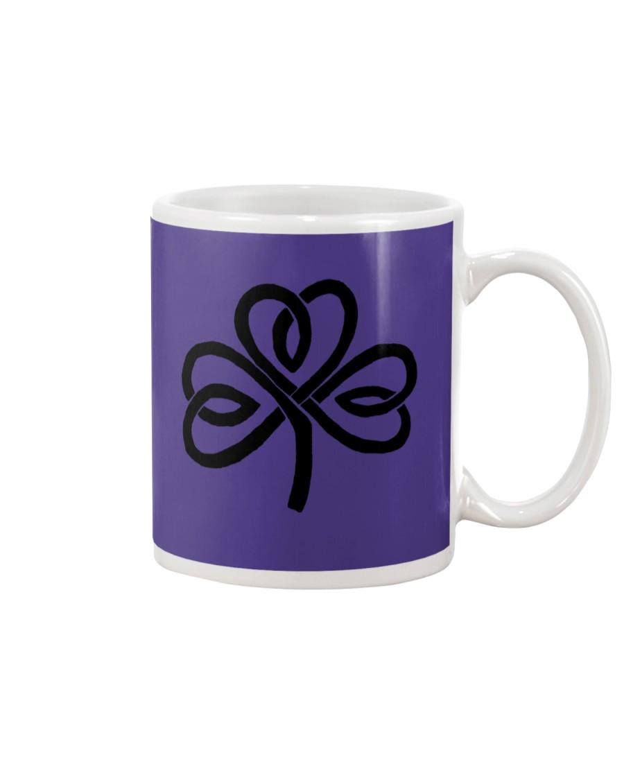 Mariah's Dream: Shamrock Black Mug