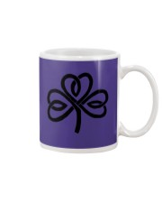 Mariah's Dream: Shamrock Black Mug tile
