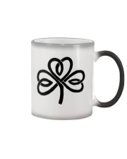Mariah's Dream: Shamrock Black Color Changing Mug color-changing-right