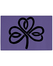 Mariah's Dream: Shamrock Black Rectangle Cutting Board thumbnail