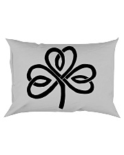 Mariah's Dream: Shamrock Black Rectangular Pillowcase thumbnail
