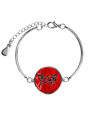 Mariah's prologues: Strawberry Dreaming jewellery Metallic Circle Bracelet thumbnail