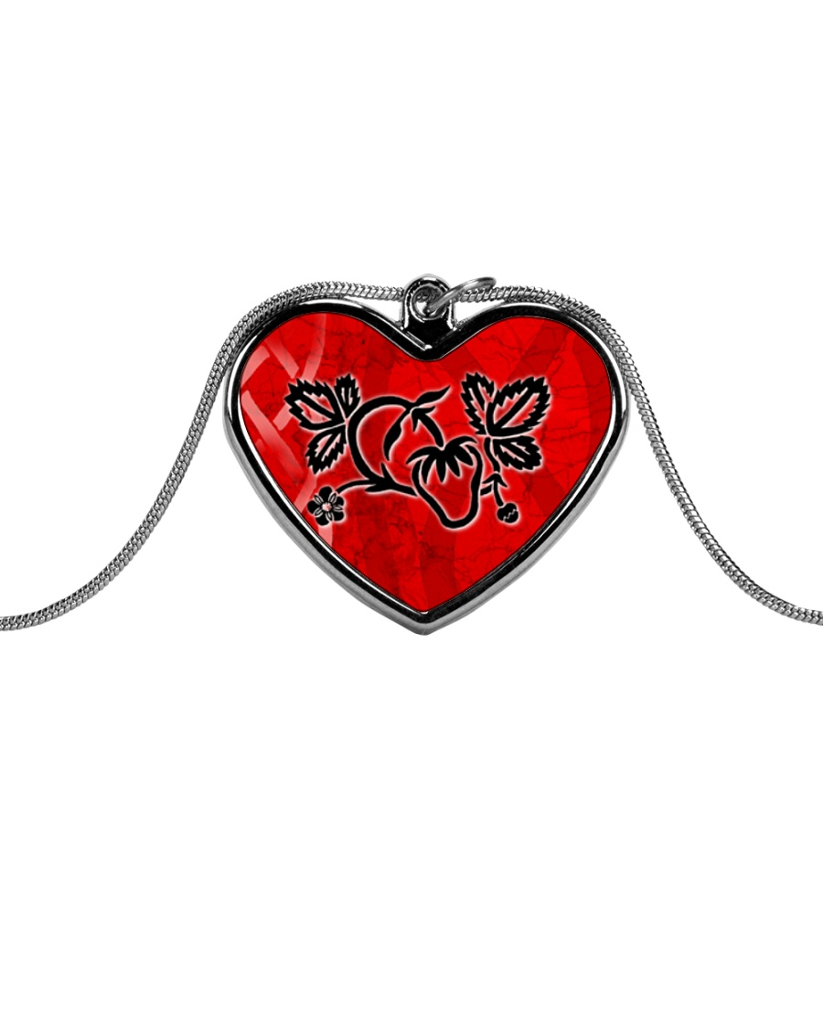 Mariah's prologues: Strawberry Dreaming jewellery Metallic Heart Necklace