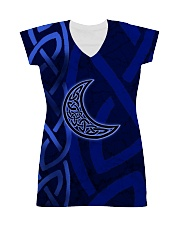 Celtic Moon all-over tees All-over Dress front