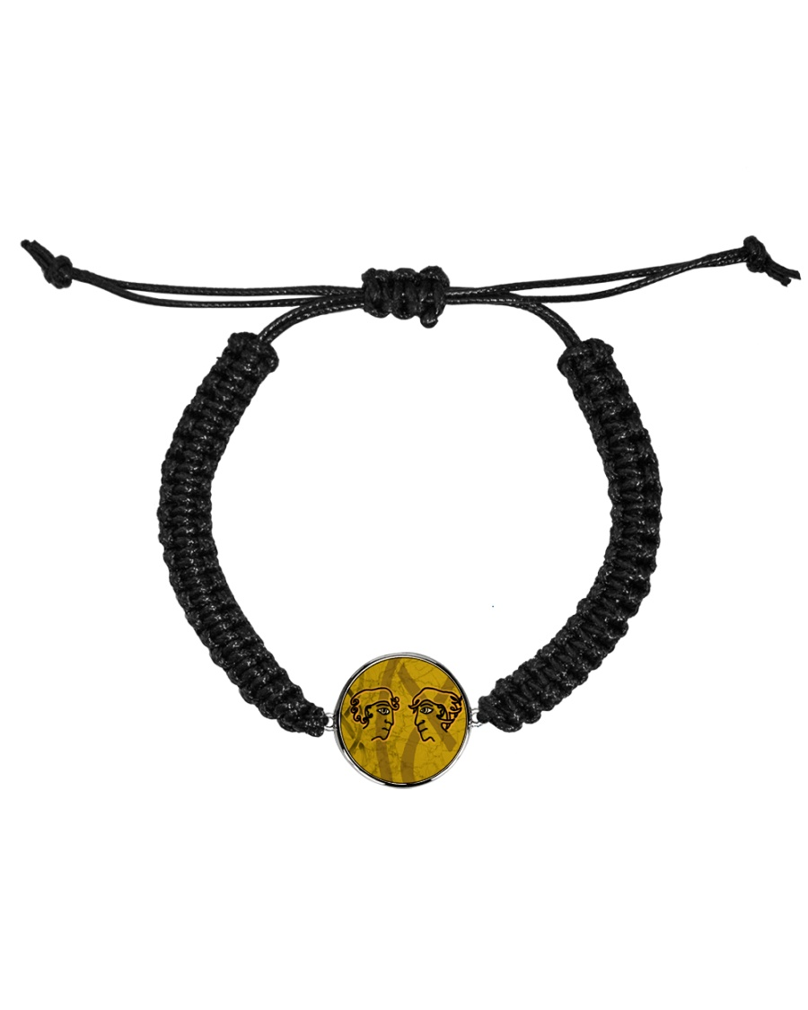 Mariah's prologues: Foe Or Forager jewellery Cord Circle Bracelet