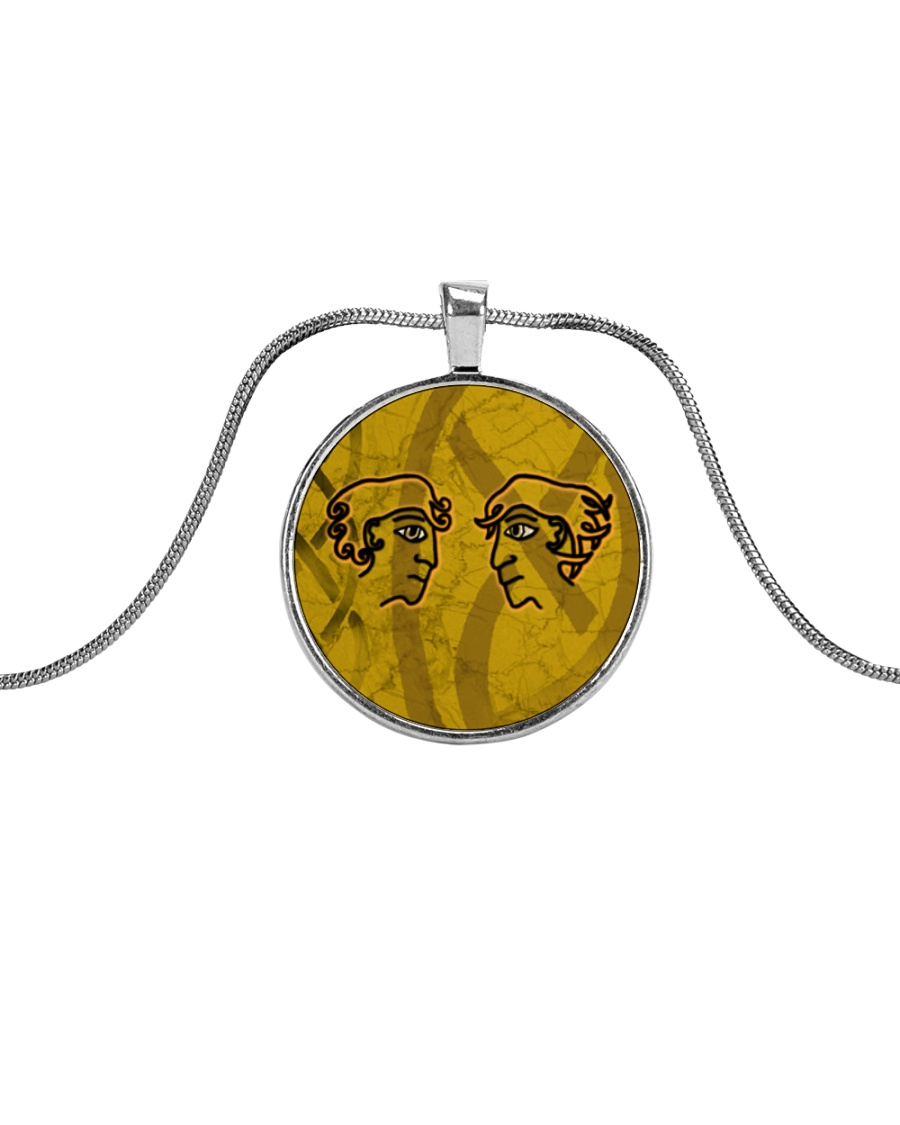Mariah's prologues: Foe Or Forager jewellery Metallic Circle Necklace