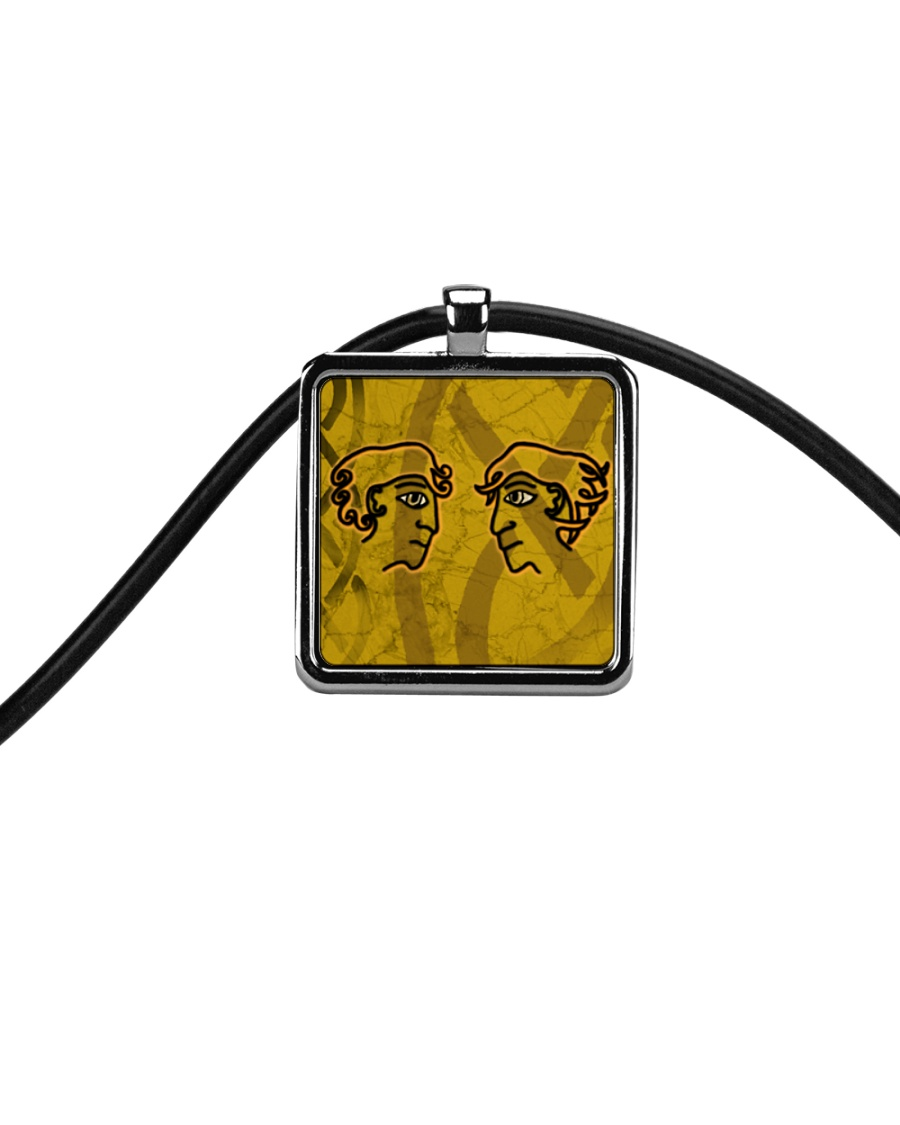 Mariah's prologues: Foe Or Forager jewellery Cord Rectangle Necklace