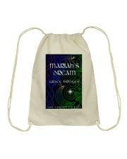 Mariah's Dream book cover Bag Drawstring Bag front