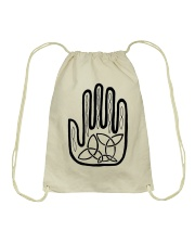 Mariah's Prologue One Man's Work Celtic Hand black Drawstring Bag thumbnail